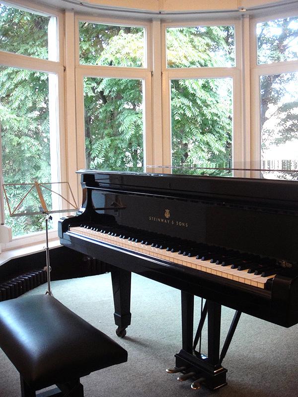 Piano zaal